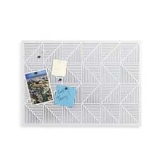 Umbra Trigon Bulletin/Memo Board - White