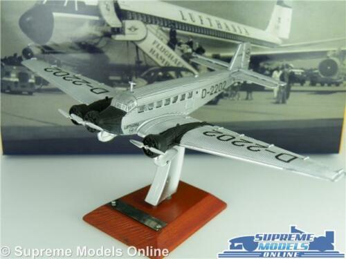 JUNKERS JU 52 2202 MODEL AIRCRAFT AIRPLANE 1:200 SIZE ATLAS IXO LUFTHANSA 1932 T