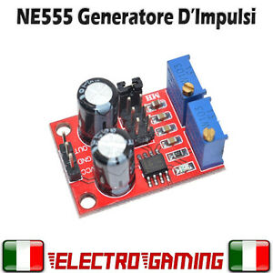 NE555 Generatore di e duty cycle variabile - AE42
