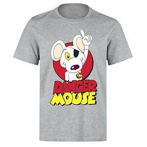 Danger mouse superhero comic retro cartoon unisex ph59 for Retro superhero t shirts