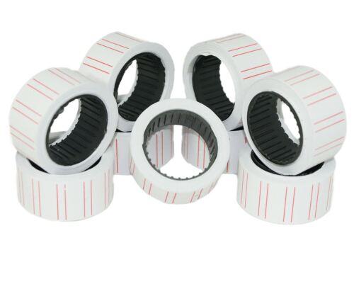 12,500 blanco con líneas CT1 precio Pistola Etiquetas Para Motex MX-5500
