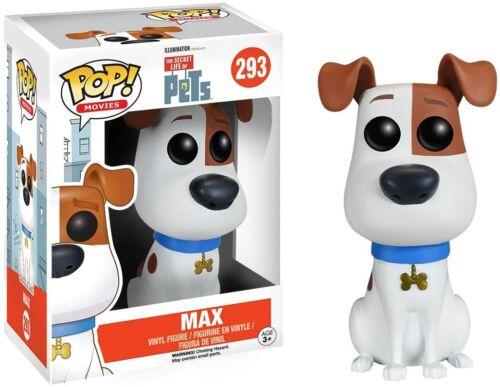 Movies-The Secret Life of Pets: Max NOUVEAU /& NEUF dans sa boîte nº 293 - Funko Pop