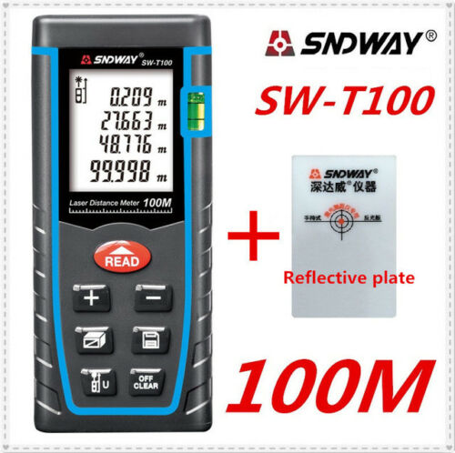 Sndway Laser Distance Meter 40 m 60 M 80 m 100 m Laser Rangefinder