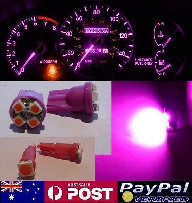 Pink LED Dash Gauge Light Kit - Suit Subaru Forester 1997-2002 GX GT