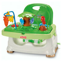 Fisher Price Rainforest Healthy Care Booster Seat M3176