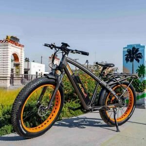 Addmotor Electric Bicycle, 26-Inch Mountain Electric Bikes for Adults, Strong.