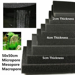 Fish-Tank-Aquarium-Filter-Sponge-Foam-Pad-Filtration-Cotton-2-4-5cm-50x50cm