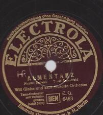 Schuricke Terzett con orchestra WILL GLAHE Orchestra 1938: LADY Holla
