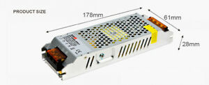 24W-100W-150W-12V-24V-Netzteil-Trafo-Netz-adapter-Driver-fuer-LEDs-strips-modul
