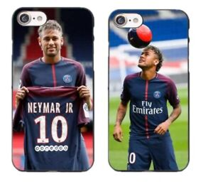 33a735c0abe86 Details about Neymar Jr PSG Football Cover mobile phone Case iPhone 5 5S 5c  se 6 6S 7 Plus 8 X