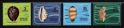 WohltäTig Tokelau Inseln,scott #41-44,postfrisch Mit Scharnier Set Of Sea Kauri