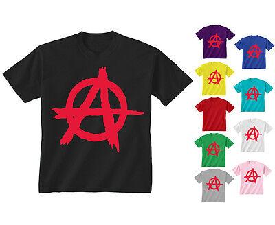 Kids VIPwees T-Shirt God Save The Punks Boys Girls Anarchy Punk Rock Music Tee