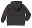 Disney Star Wars Little Boys Full Zip Hooded Fleece Jacket Black//Grey
