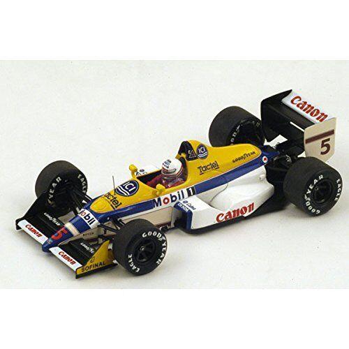 Williams fw12 M. Bundle 1988  5  7th Belgium GP 1 43 Model s4027 spark model  authentique