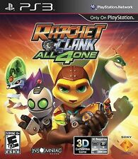 Ratchet & Clank All 4 One PS3 - LN - Game Disc Only