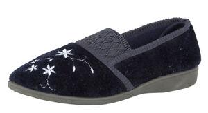 Damen Slipper Espadrilles Flats Metallic Glitzer Slipper 815741 Schuhe
