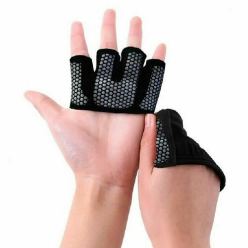 Weight Lifting Gloves Women Neoprene Ladies Gel Gym Straps Yoga Fitness