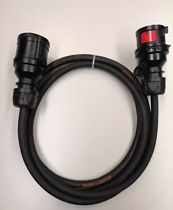 CEE un câble électrique 5x2,5 mm² 16a rallonge en caoutchouc câble 5//10//15//20//25