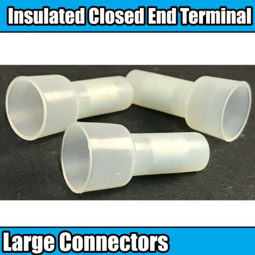 Insulated Closed End Large Connectors Connector Terminals Wire Crimp Electrical