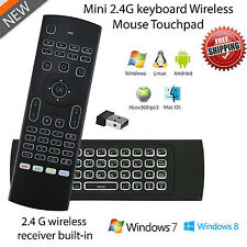 MX3B 2.4G 81 Key Backlight Wireless fly Air Mouse Mice Remote for Smart TV BOX