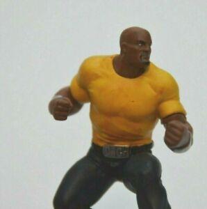Vintage 2011 Marvel Comics LUKE CAGE Miniature Toy Display Figure  2.5 inches