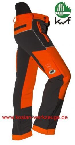 Cerdo corte protección pantalones stretch federal pantalones, forsthose, tirantes, silvicultura PSA