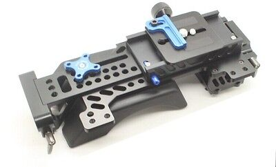 Tilta III 2 in 1 Quickrelease Baseplate BS-T03 shoulder pad for DSLR rig 5D3 5D2
