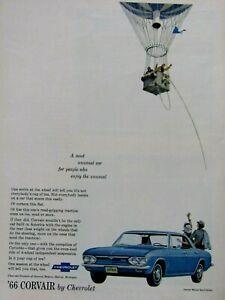 1966-Chevrolet-Corvair-Monza-Sport-Sedan-Original-Print-Ad-8-5-x-11-034