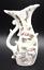 thumbnail 1 - Vintage Porcelain Bud Vase Gold Details Pink Roses Made in Japan Mid Century