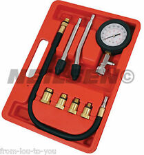 Automotive Engine Compression Tester Kit for petrol vehicles M18 M14 M12 M10