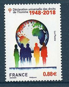 TIMBRE-5290-NEUF-XX-70-ANS-DE-LA-DECLARATION-UNIVERSELLE-DES-DROITS-DE-L-039-HOMME