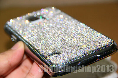 Super Bling Austria Diamond Crystal Case Cover For Samsung Galaxy Note 4/Note3