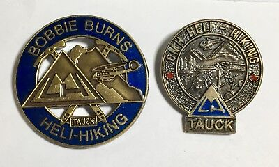 heli-hiking & Cmh--heli-hiking,tauck 2 Pins Delicacies Loved By All Climbing & Caving Bobby Burns Tauck Sporting Goods