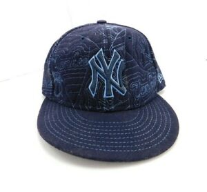 8c9905e2 New Era 59fifty New York Yankees Hat Cap Fitted 7 1/4
