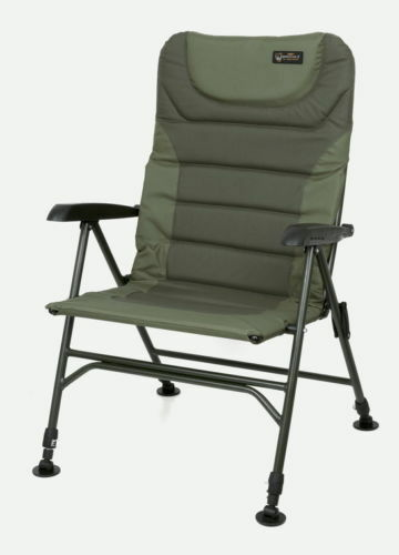 Fox Warrior 2 II Arm Chair NEW Carp Fishing Chair Camping - CBC068