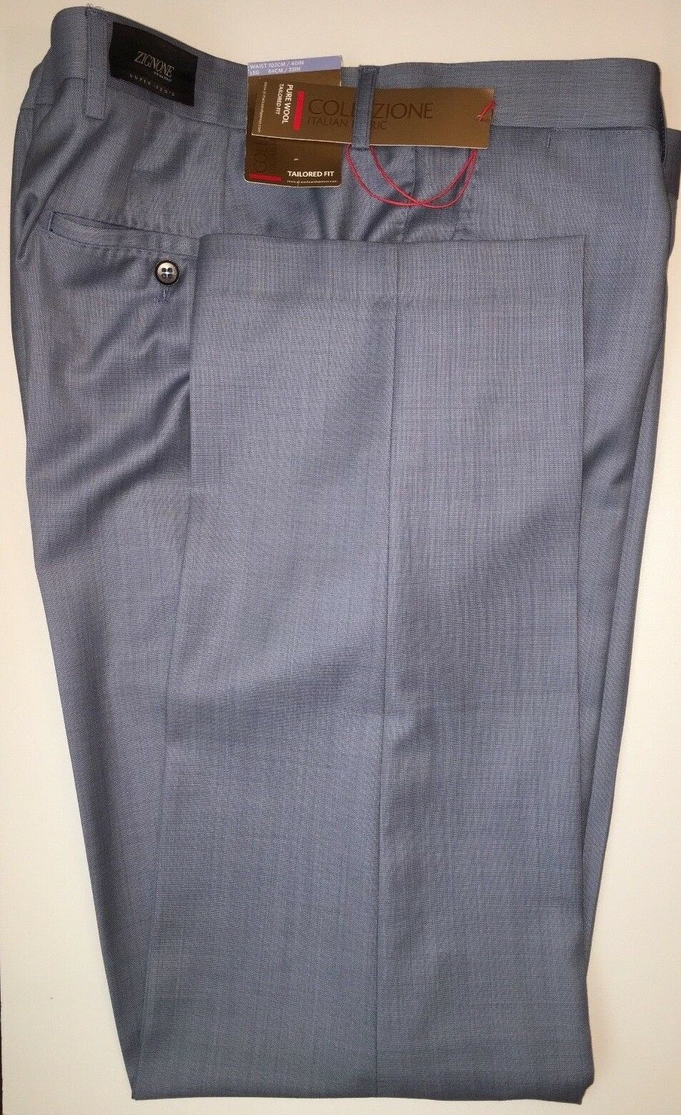 M&S Collezione (Zignone, ) Tailored Fit flat Front TROUSERS  PRP