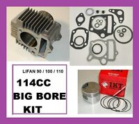 Clone Engine 90cc - 110cc 54mm 114cc Big Bore Cylinder Kit 1-18/1-56/1004d/267f