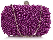 Señoras para mujer De Noche Bolsa De Fiesta Noche Embrague Wedding Bridal's bolso bolso de mano