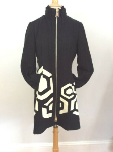 MONOCHROME Art To Wear DESIGUAL Abstract Coat Jack