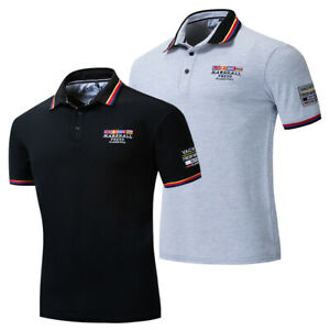 New-Fashion-Men-Embroidered-Polo-Shirt-Casual-Short-Sleeve-Solid-Cotton-T-Shirt