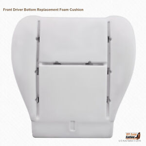 FITS 2000 - 2004 Toyota Tundra Front Driver Bottom Replacement Seat Foam Cushion
