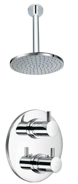 Thermostatique plafond de douche + robinet salle de bains SH043-240