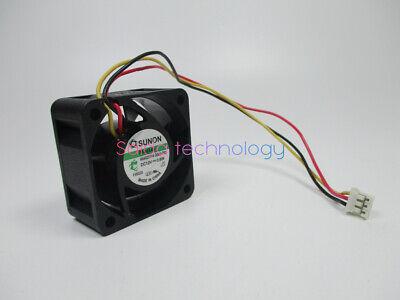 1pc SUNON HA40201V4-D000-C99 Ultra-quiet cooling fan 3pin 12V 0.6W40*40*20mm#XX