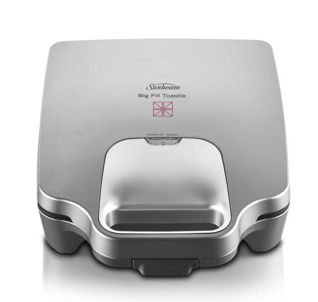 Sunbeam GR6450 Big Fill Toastie™ For 4 Cut & Seal Sandwich Maker