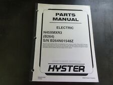 Hyster N45xmxr3 Electric Forklift Parts Manual B264