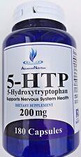 5-HTP 200mg Big Bottle 180 Capsules Weight Management Mood Serotonin Gluten FREE