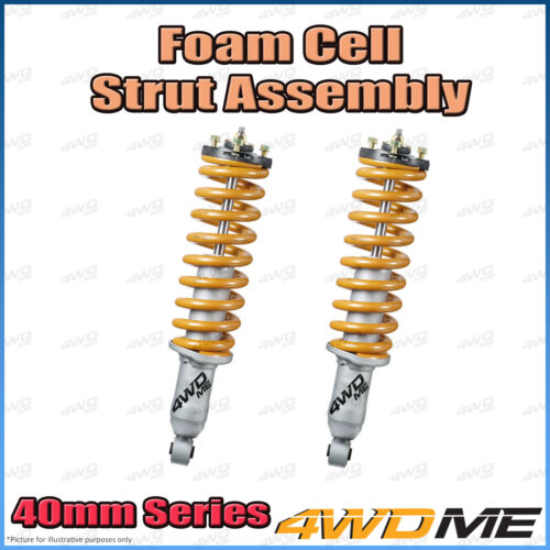 "Toyota Hilux KUN26 4WD Front Preassembled FM Shocks + Coils 2"" 40mm Lift Light"