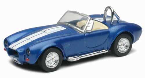 Newray 50453b 1:32 la cast 1966 Shelby Cobra 427 s//c azul//blanco