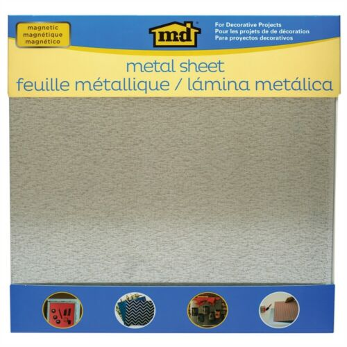 """Magnetic Steel Sheet 12/""""x12/""""-silver"""