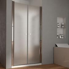 Box doccia 90 cm per nicchia apertura saloon interna esterna cristallo temperato